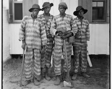 Convicts leased to harvest timber.Florida Photographic Collection, Florida State Library