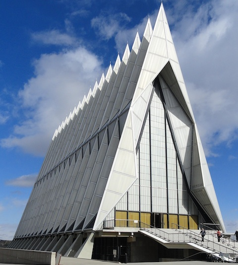 United States Air Force Academy Cadet Chapel, Colorado Springs. William J. Schultz.