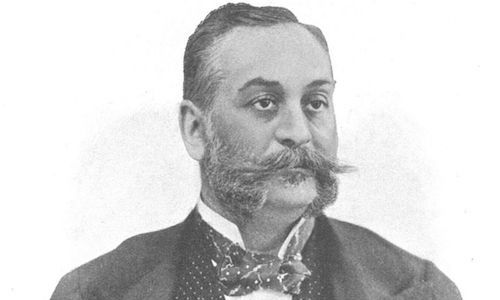 Leó Lánczy, Director-General of the Hungarian Commercial Bank during the First World War / Mór Erdélyi - Sport und Salon, 23.11.1901, from the collections of Austrian National Library